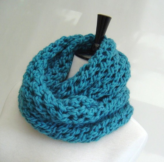 Images of Infinity Scarf Pattern Knitting Instruction