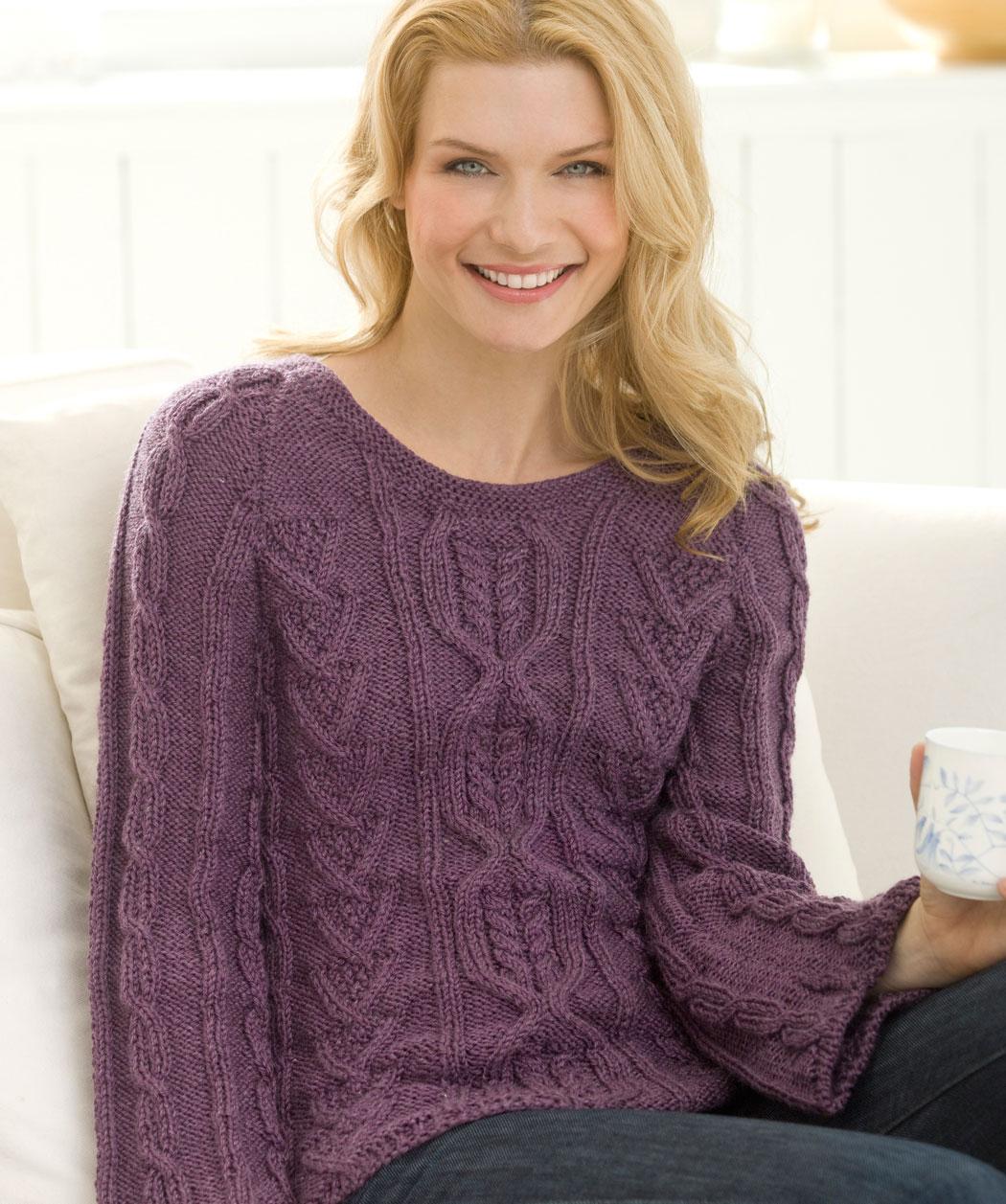 Irish Cable Knit Sweater Pattern
