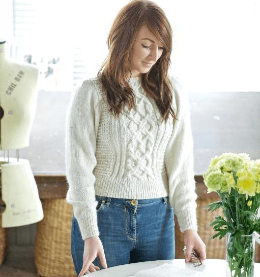 Irish Knit Sweater Pattern
