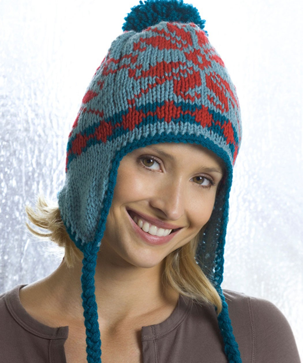 Knit Earflap Hat Pattern Tutorial