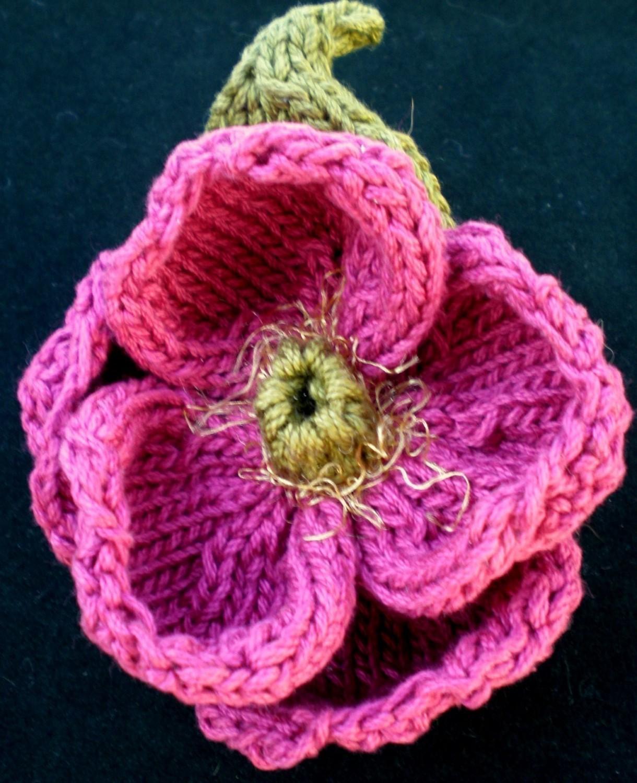 Knit Flower Pattern