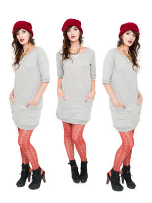 Knit Sweater Dress Pattern
