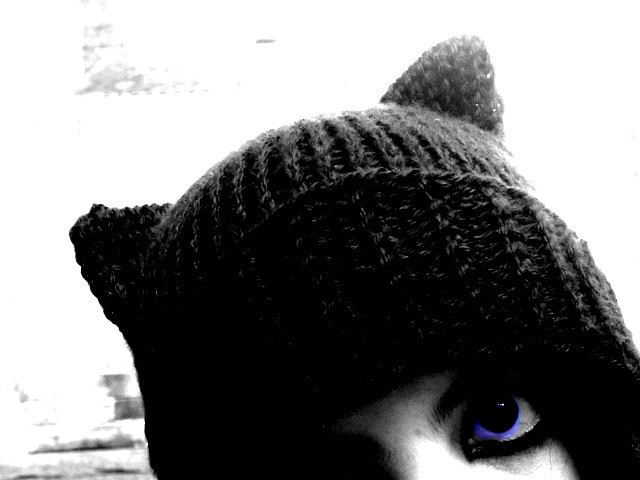 Knitted Cat Hat Pattern Tutorial