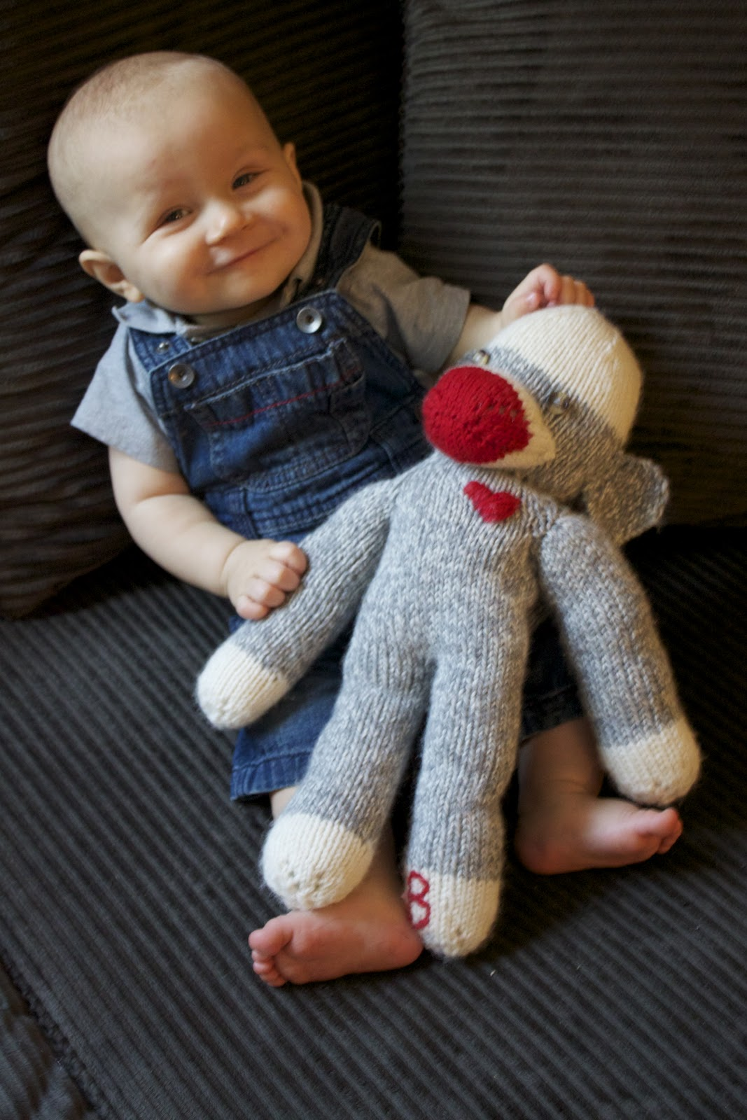 Knitted Sock Monkey Pattern Tutorial