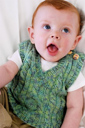 Knitted Vest Pattern For Baby