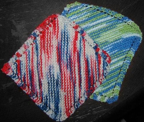 Knitting Dishcloth Pattern