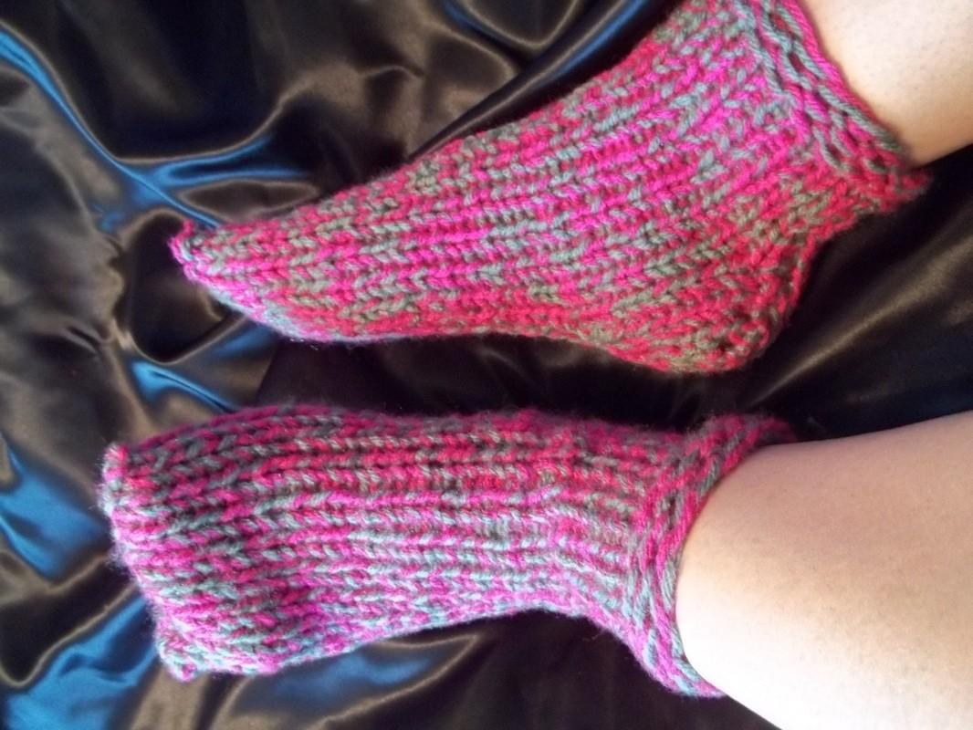 Knitting Loom Sock Pattern