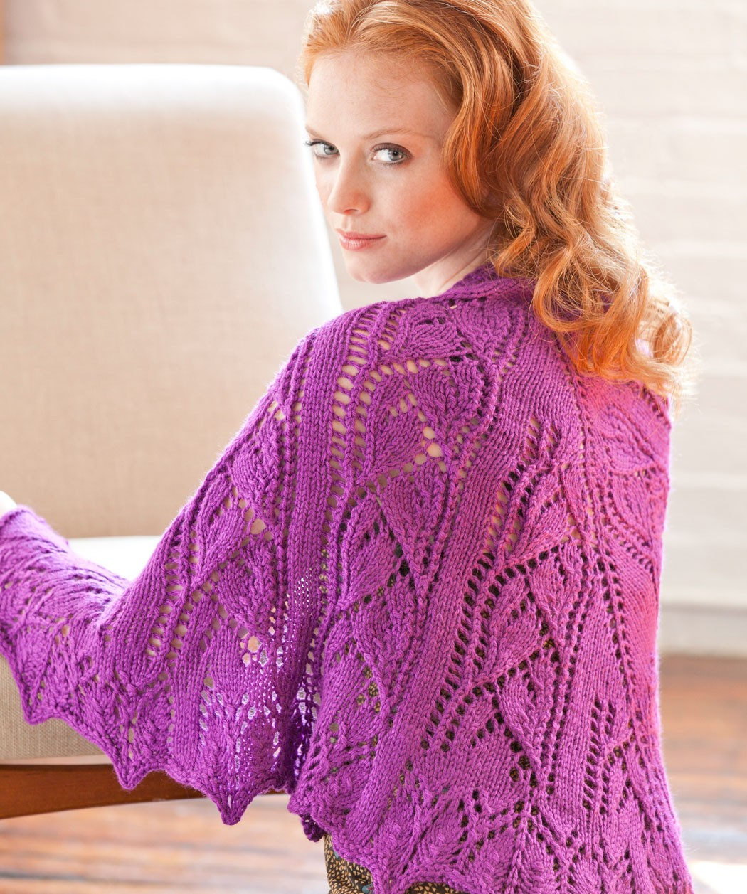 Knitting Shawl Pattern