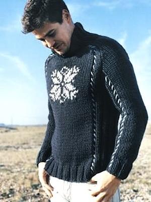 Knitting Sweater Pattern For Men's