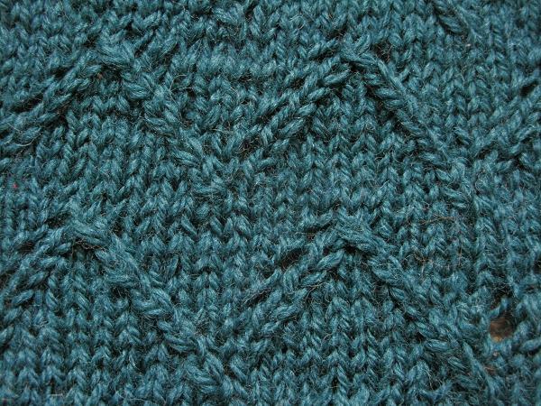 Lace Chevron Knitting Pattern
