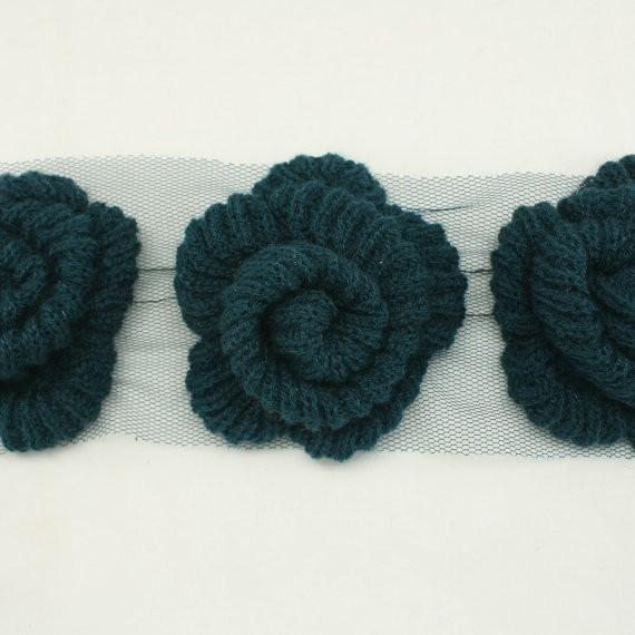 Lace Knit Flower Pattern