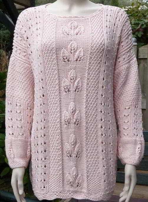Lace Knit Sweater Pattern For Women