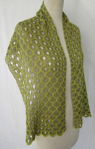 Lace Wrap Knitting Pattern