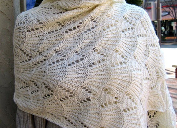 Lace Wrap Knitting Shawl Pattern