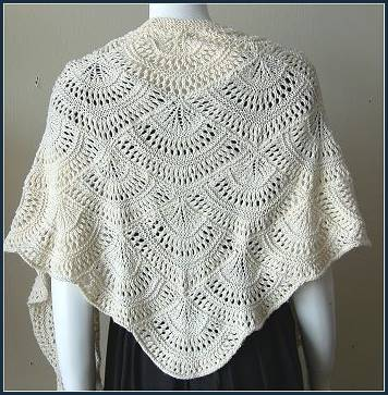 Lacy Knit Shawl Pattern