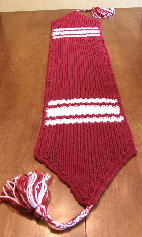 Long Loom Knit Table Runner Pattern