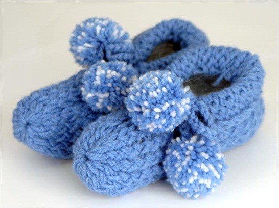 Loom Knit Comfy Slippers Pattern