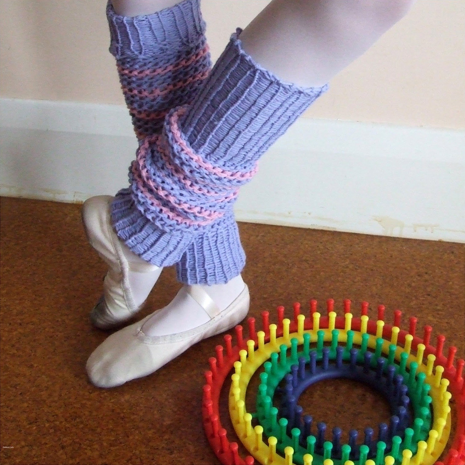 Loom Knit Leg Warmers