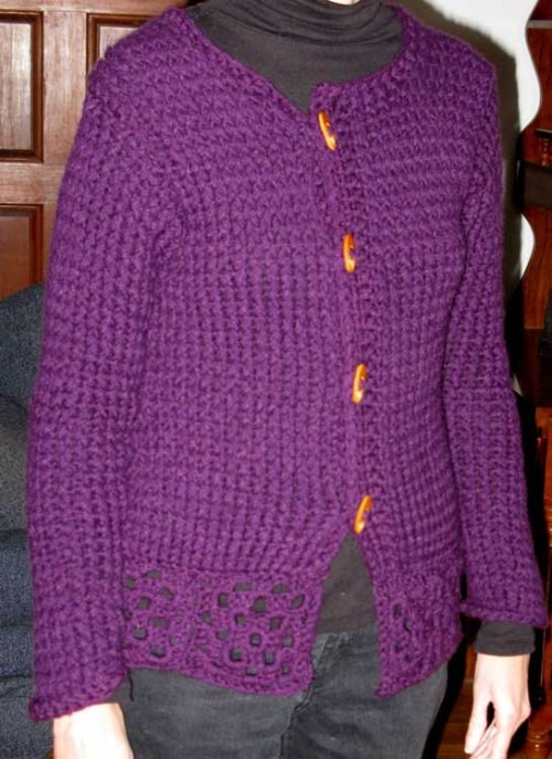 Loom Knit Sweater Pattern