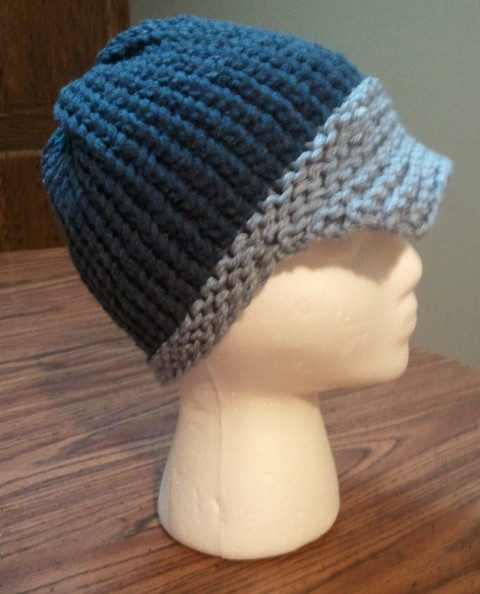 Loom Knitting Newsboy Hat Pattern