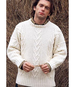 Men's Cable Knit Sweater Pattern