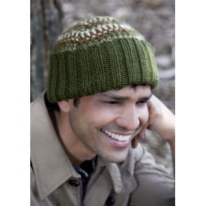Men's Tri Color Hat Knitting Pattern