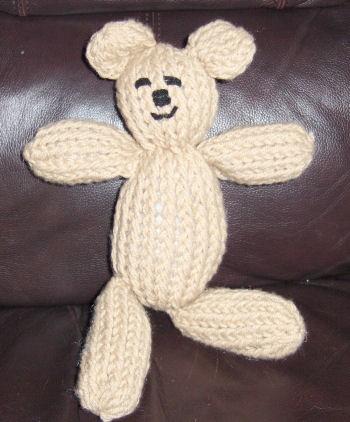 Mitten Loom Teddy Bear Images