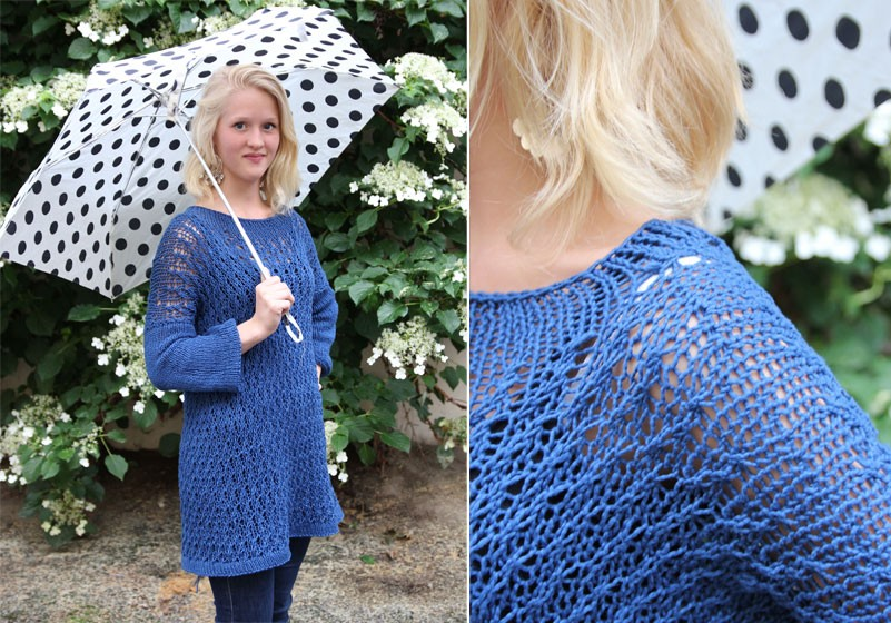 Oversized Knitted Sweater Pattern