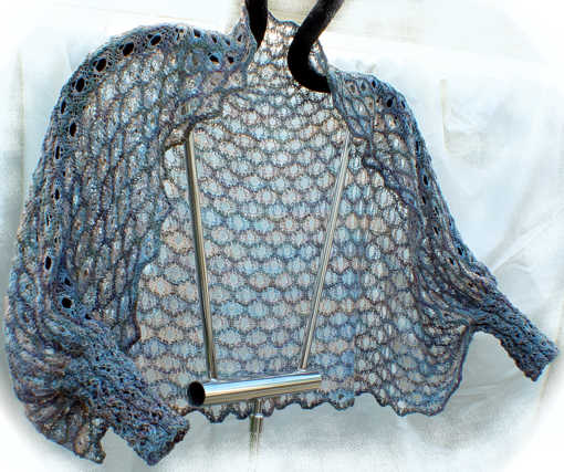 Palette of Colors Lace Knit Shrug Pattern