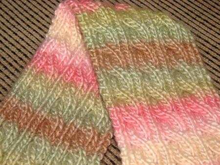 Reversible Scarf Knitting Pattern