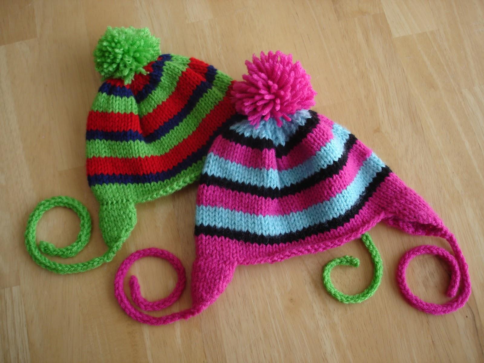Rock Candy Baby Hat Knitting Pattern