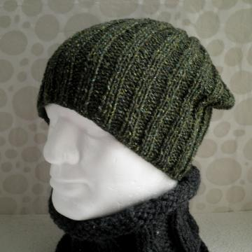 Seattle Slouchy Beanie Knitting Pattern