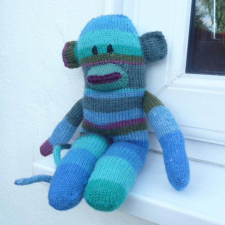 Sidney The Sock Monkey Knitting Pattern