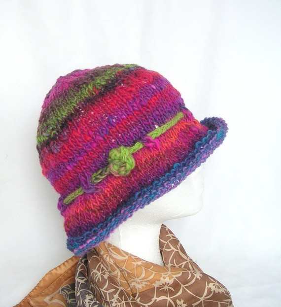 Simple Hat Knitting Pattern For Women