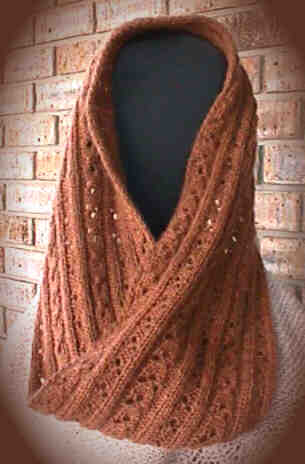 Soft Cables Mobius Scarf Knitting Pattern Tutorial