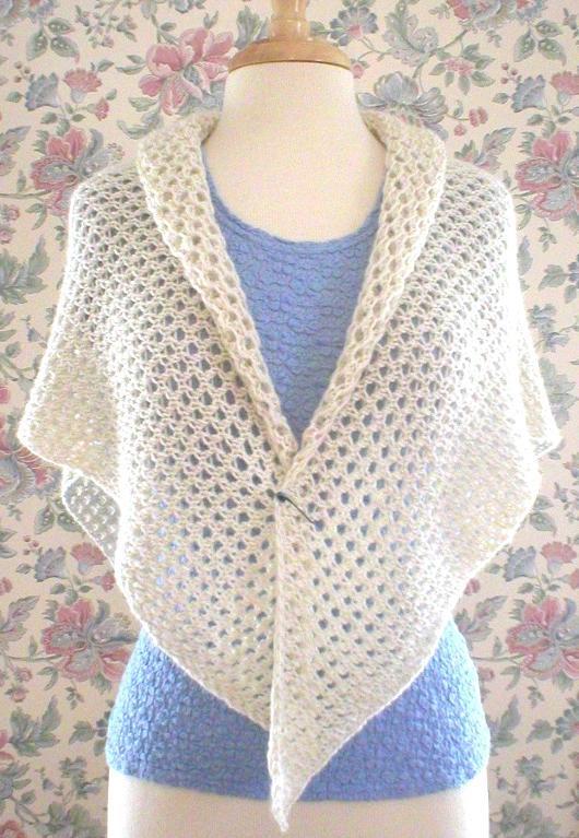 Spring Lace Wrap Knitting Pattern