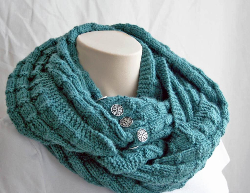 Photos of Spruce Knitting Cowl Pattern