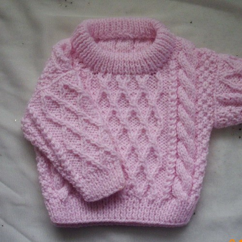 Treabhair Baby Sweater Knitting Pattern