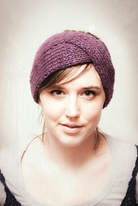 Twist Ear Warmer Knitting Pattern