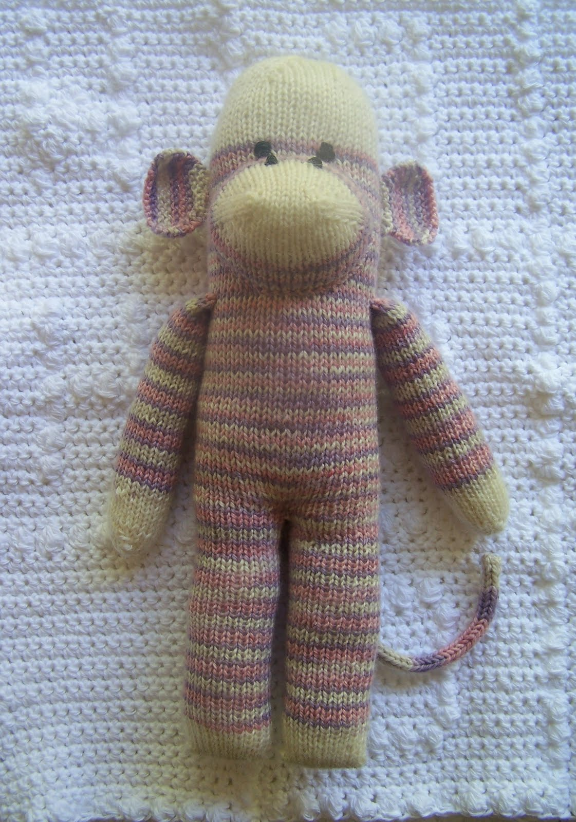 Yarn Sock Monkey Knitting Pattern