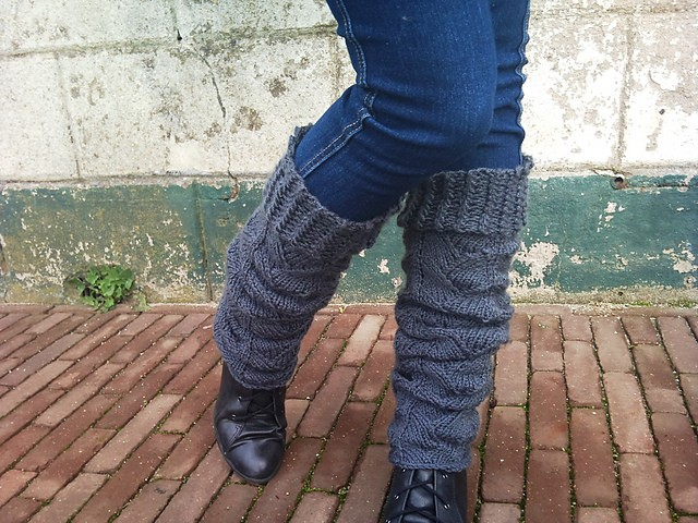 Bohemian Leg Warmer Knitting Pattern