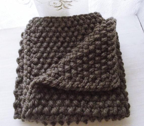 Chunky Baby Blanket Knitting Pattern