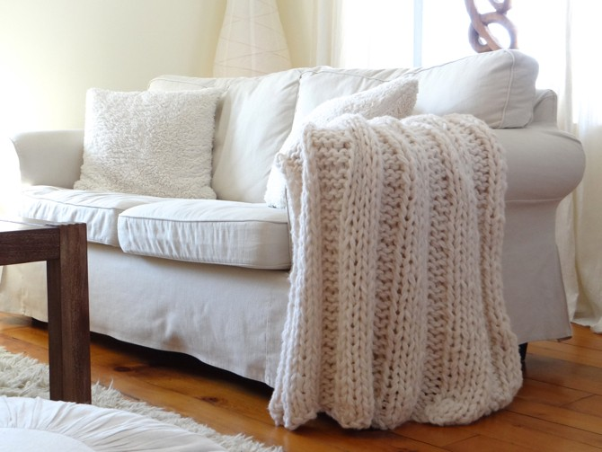 Chunky Blanket Knitting Pattern Designs