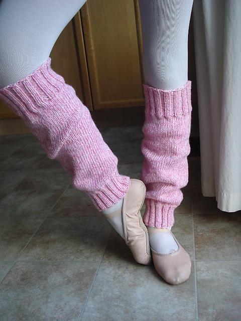 Easy Peasy Leg Warmers Knitting Pattern