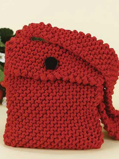 Envelope Purse Knitting Pattern