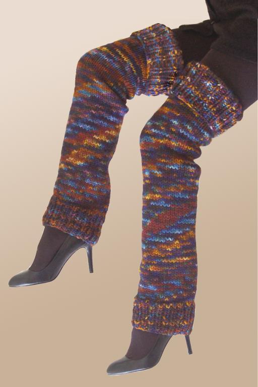 Leg Warmer Knitted Pattern