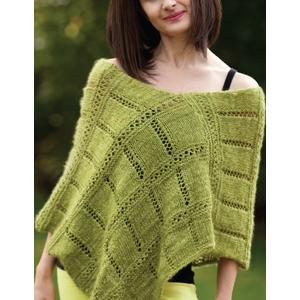 Poncho Knitting Pattern Instruction