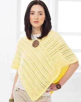 Summer Poncho Knitting Pattern