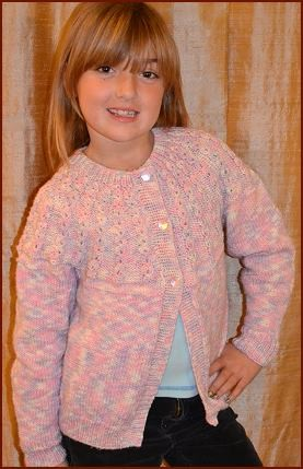 Cardigan Knitted Pattern Instruction