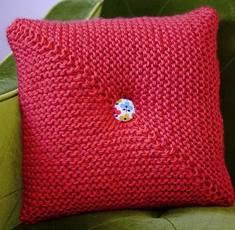 Coral Pillow Knitting Pattern